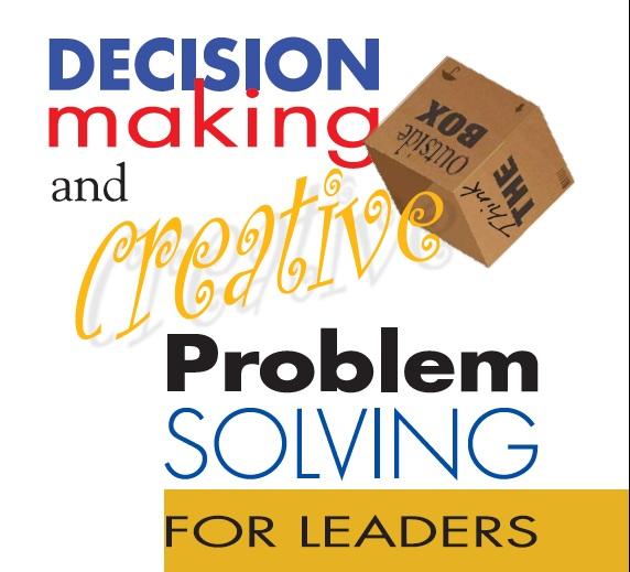 team decision making and problem solving In part the responsibility lies with the head of the chain of command of that group – but probably more important is the facilitator of the process and, of course, facilitation most frequently is a function allocated to human resources.
